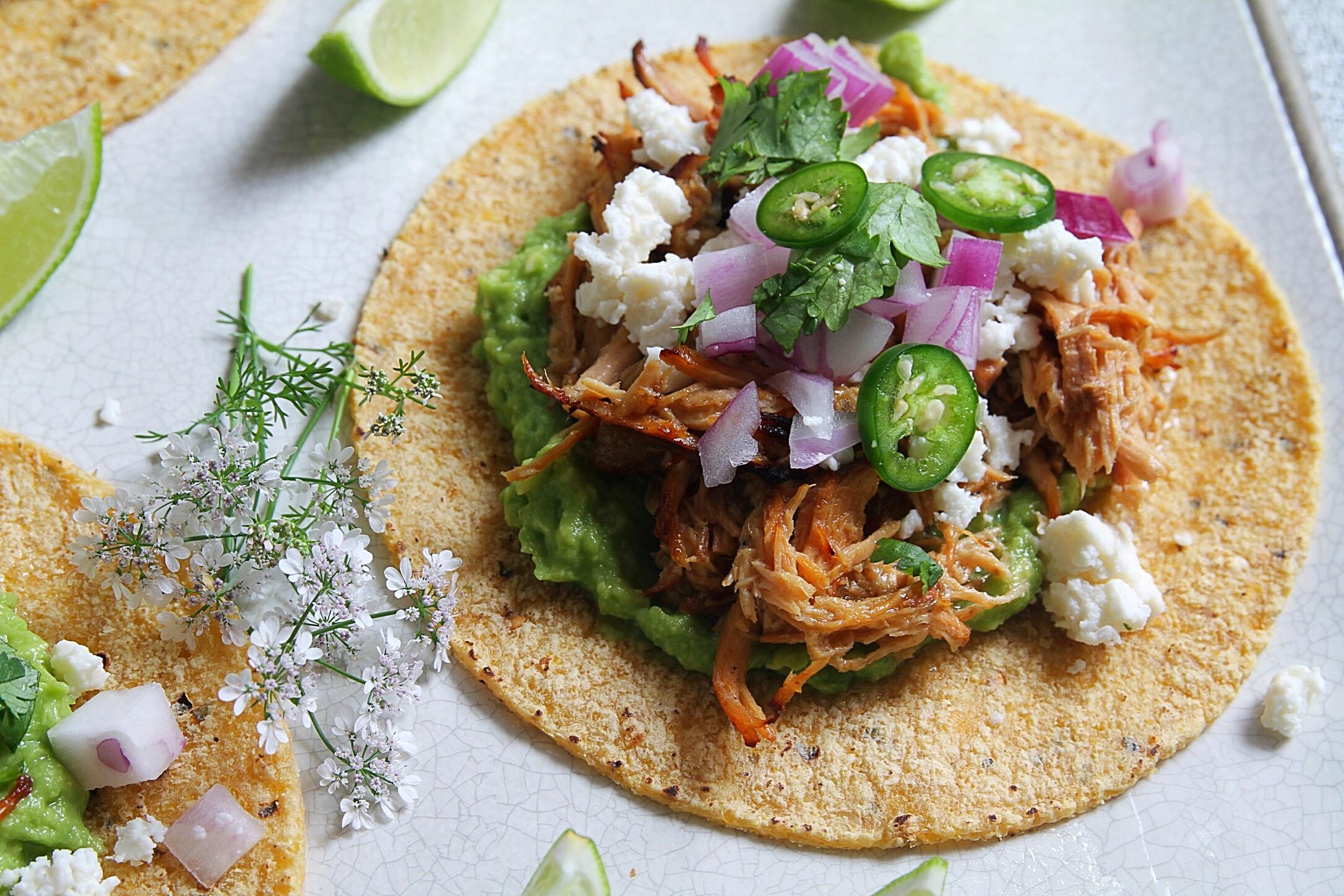 Tacos! Carnitas.