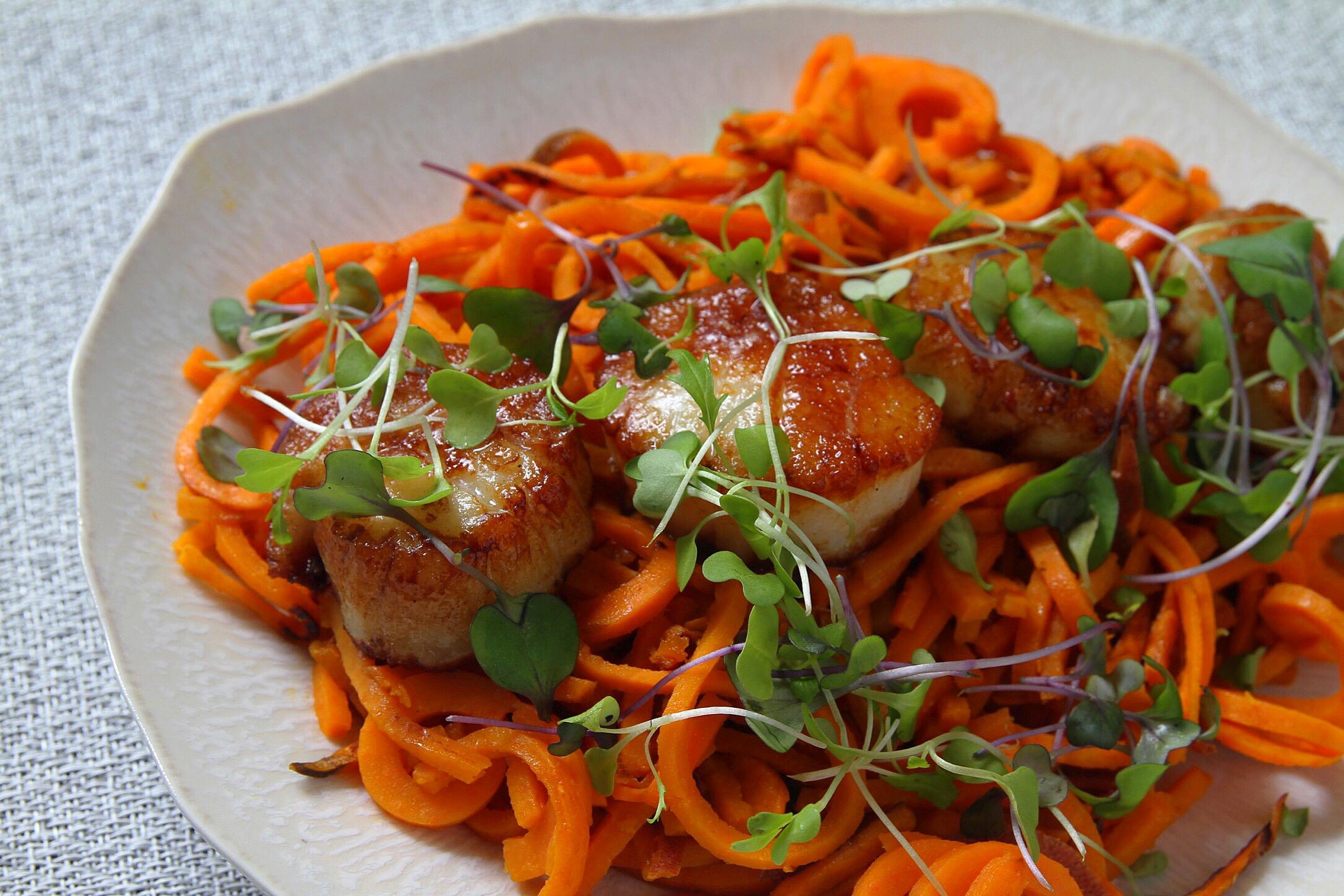 Seared scallops ❤️
