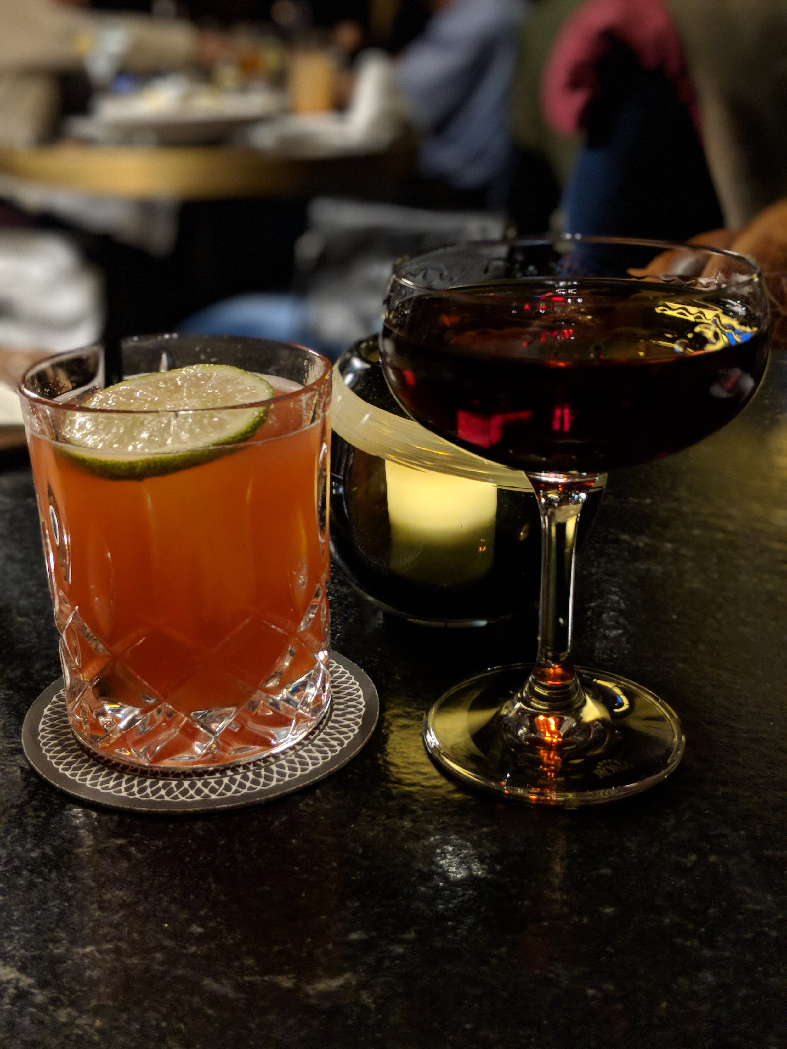 The craft cocktails at The Bancroft cannot be beat. A must-try during your next visit.