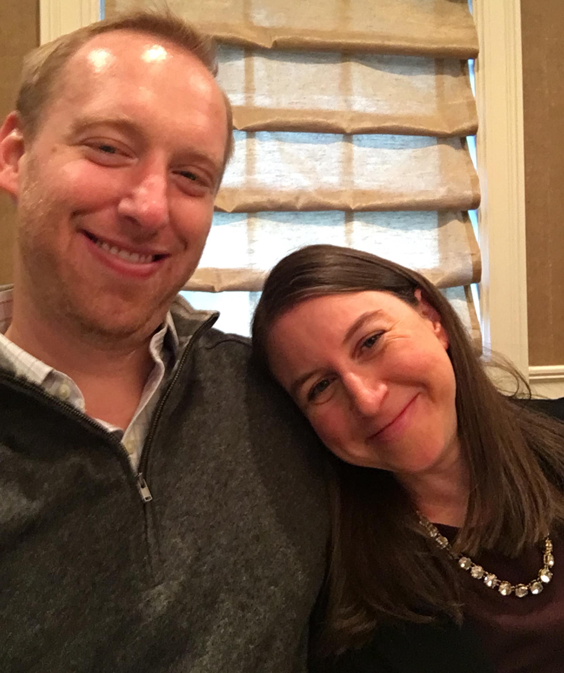 Selfie post-feast. Is that a slight turkey glow? 😂