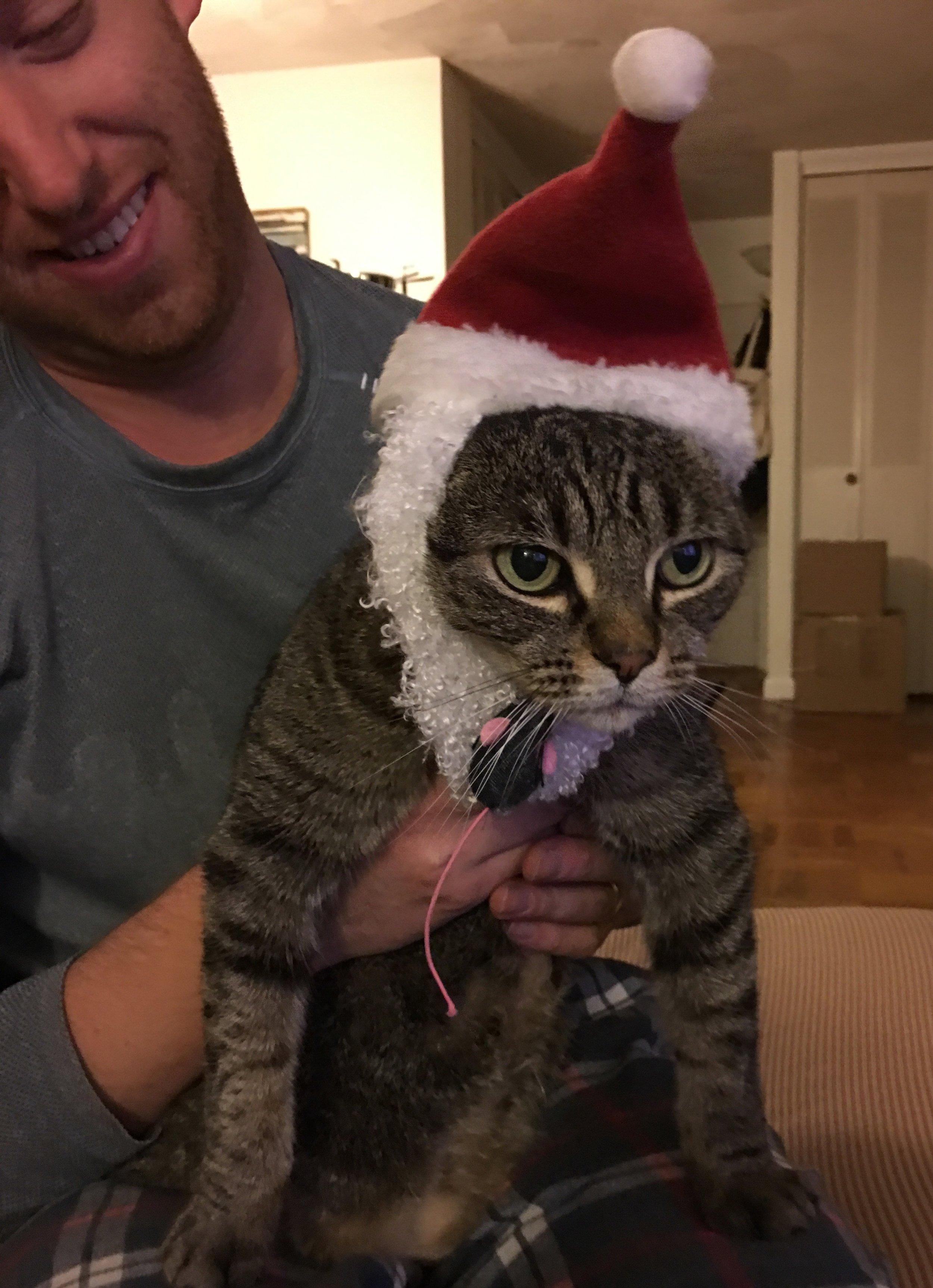 She loves this hat, I promise.