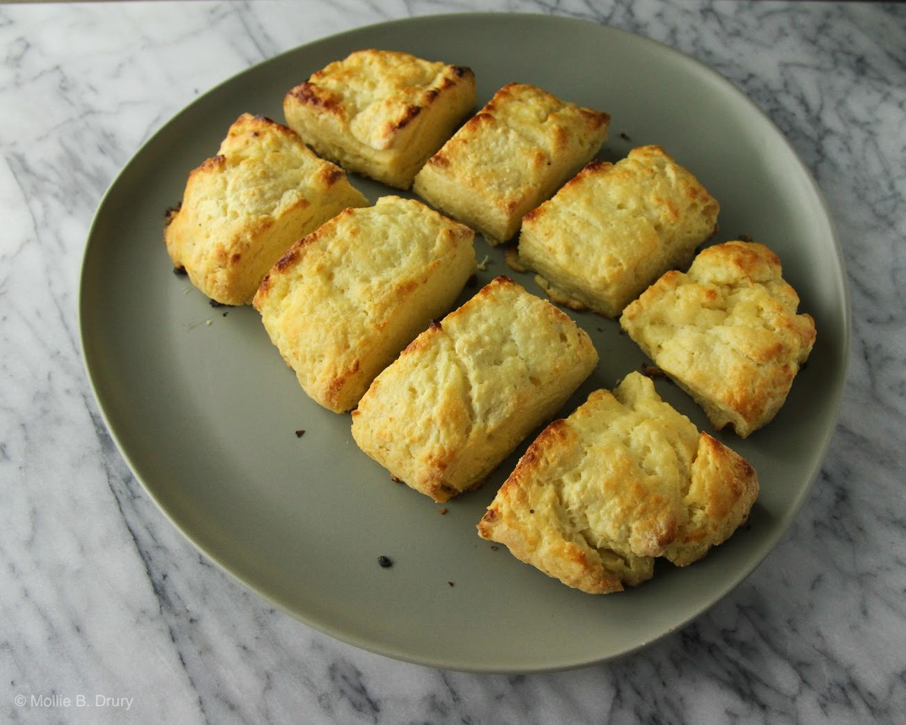 Buttermilk biscuits I made the morning we decided to move! They were stellar!