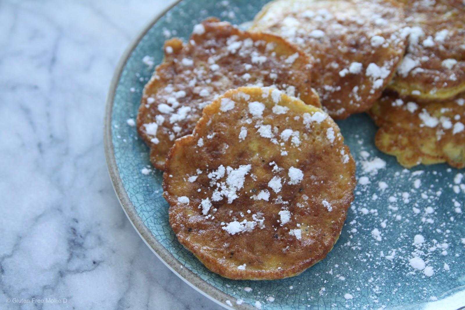 Gluten free matzah pancakes - for Passover!