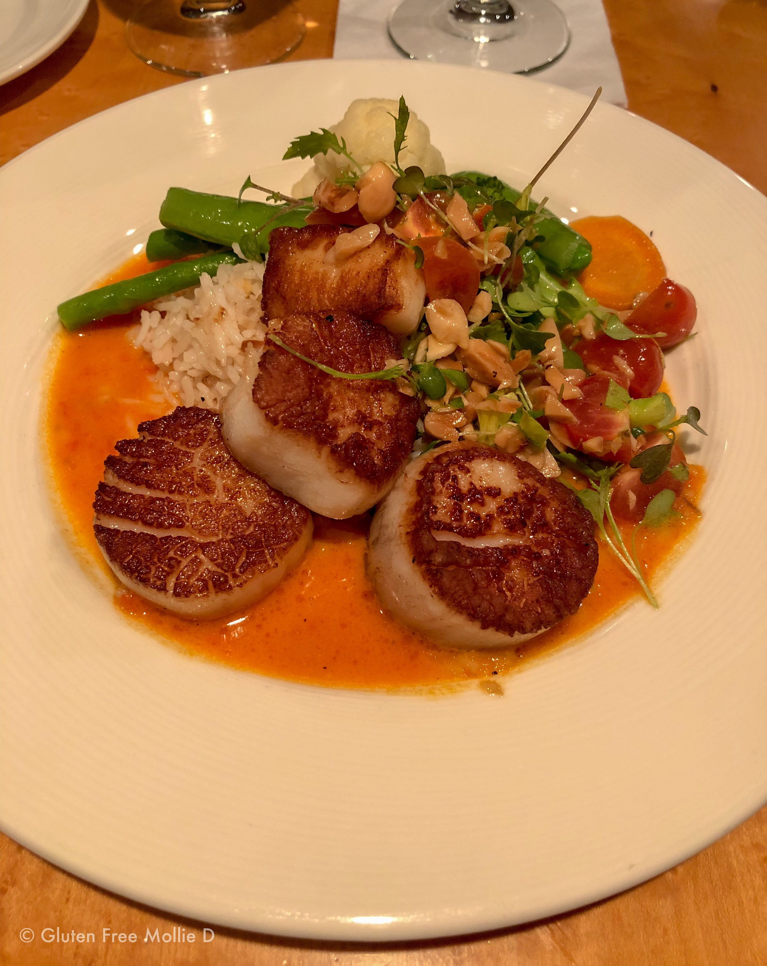 The scallop special at Joshua's. Amazing.