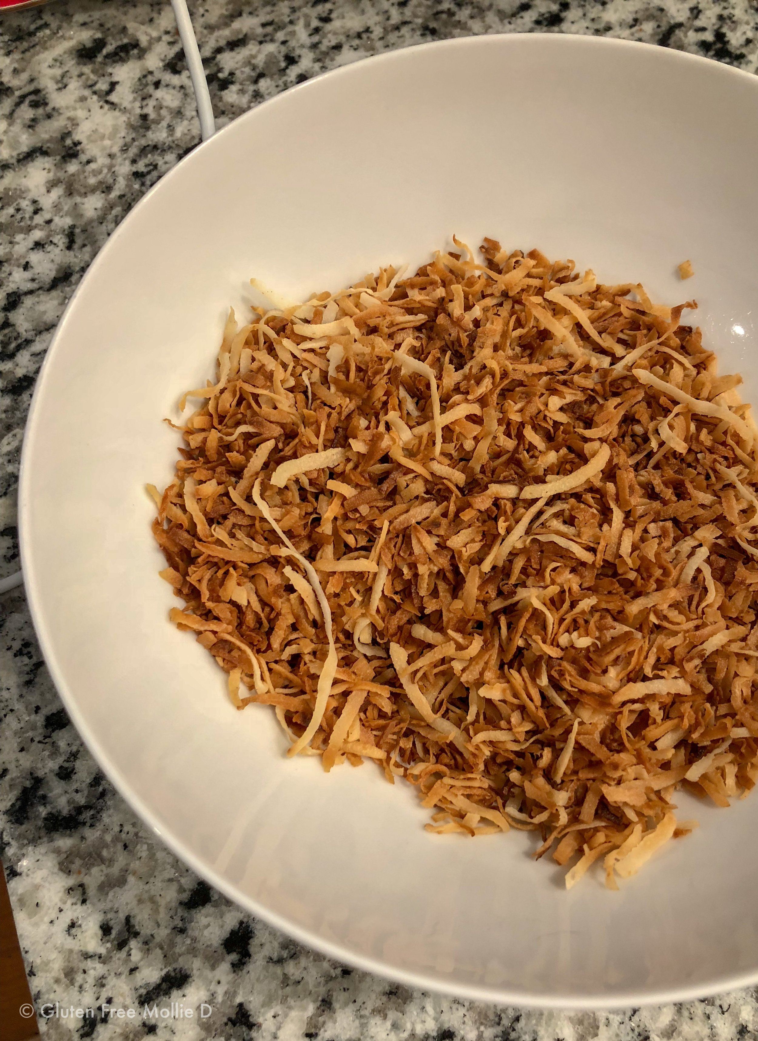 Toasted coconut - you will love it.