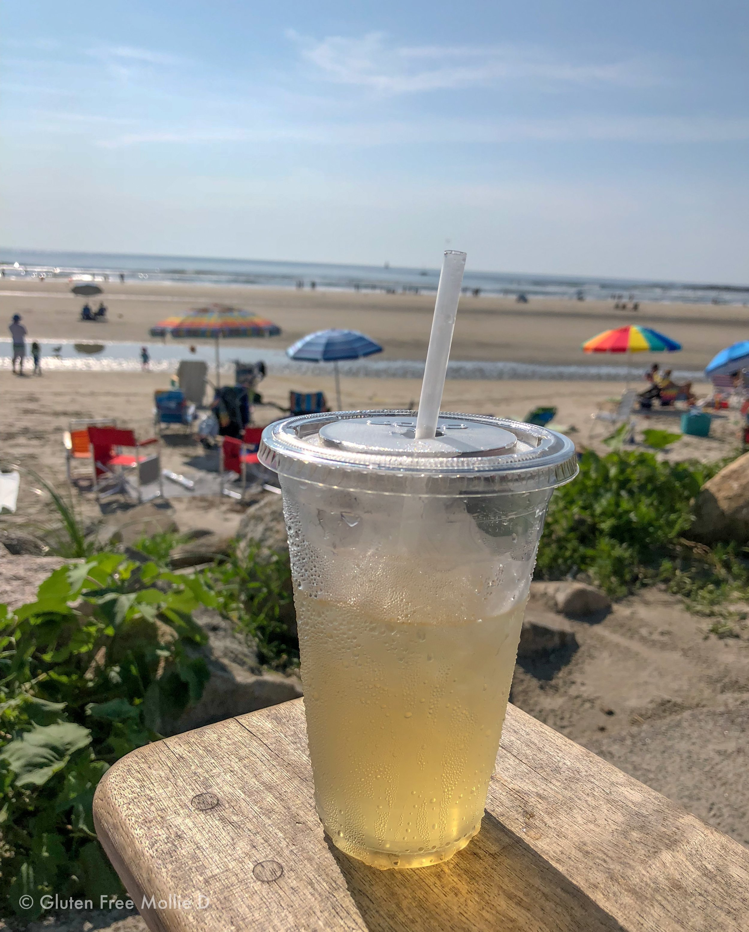 Iced tea with a view.