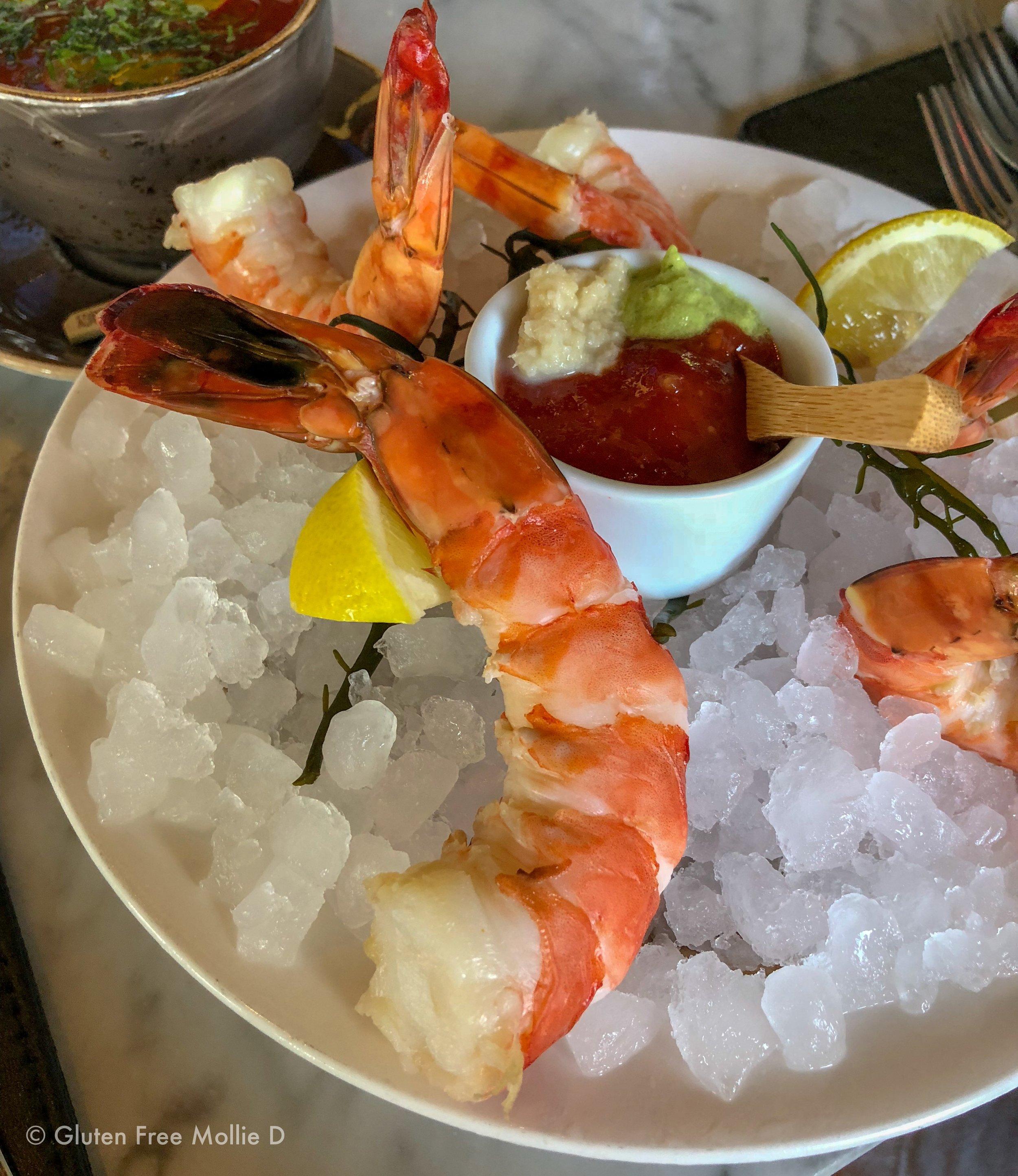 Massive shrimp.
