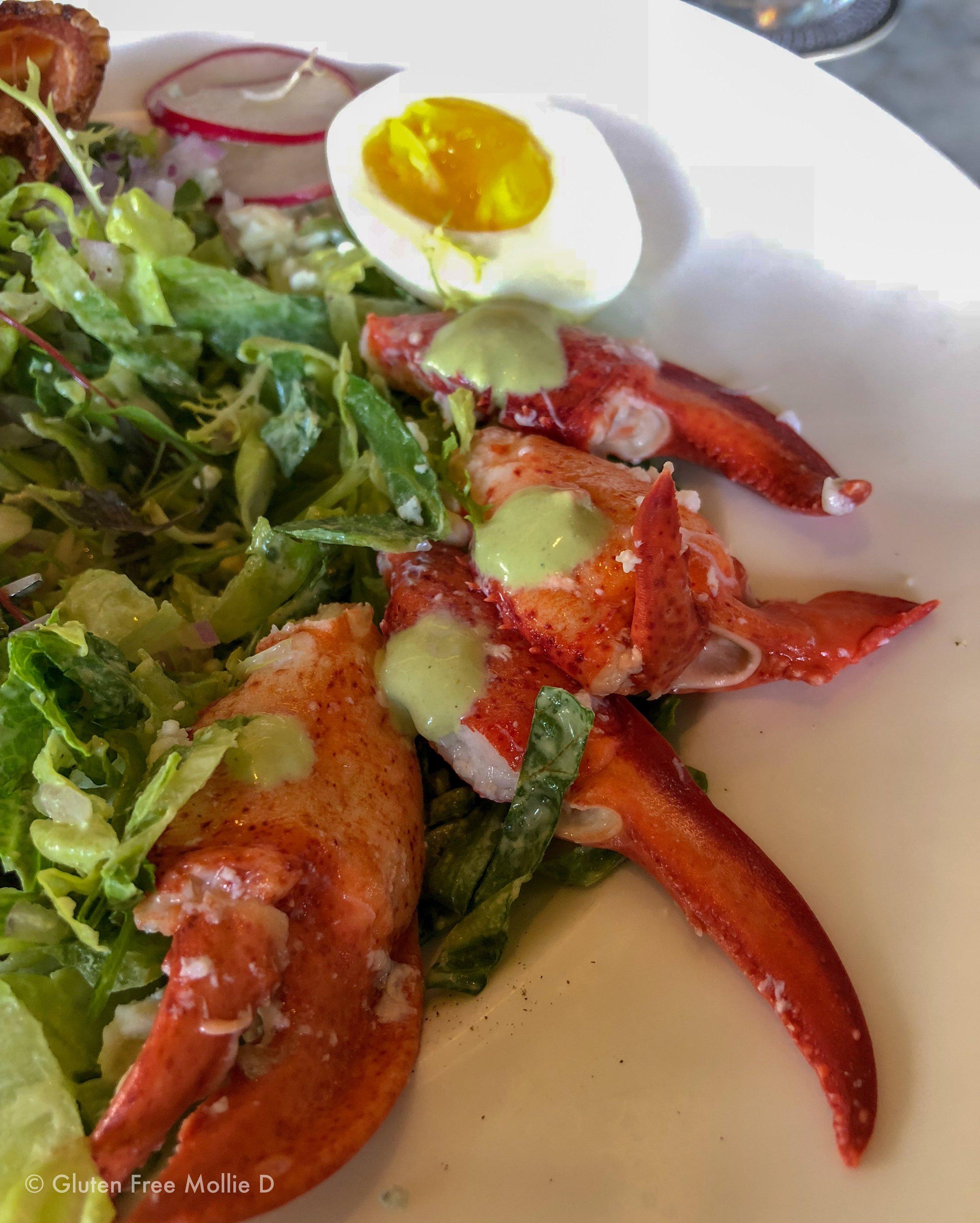 Lobster cobb.