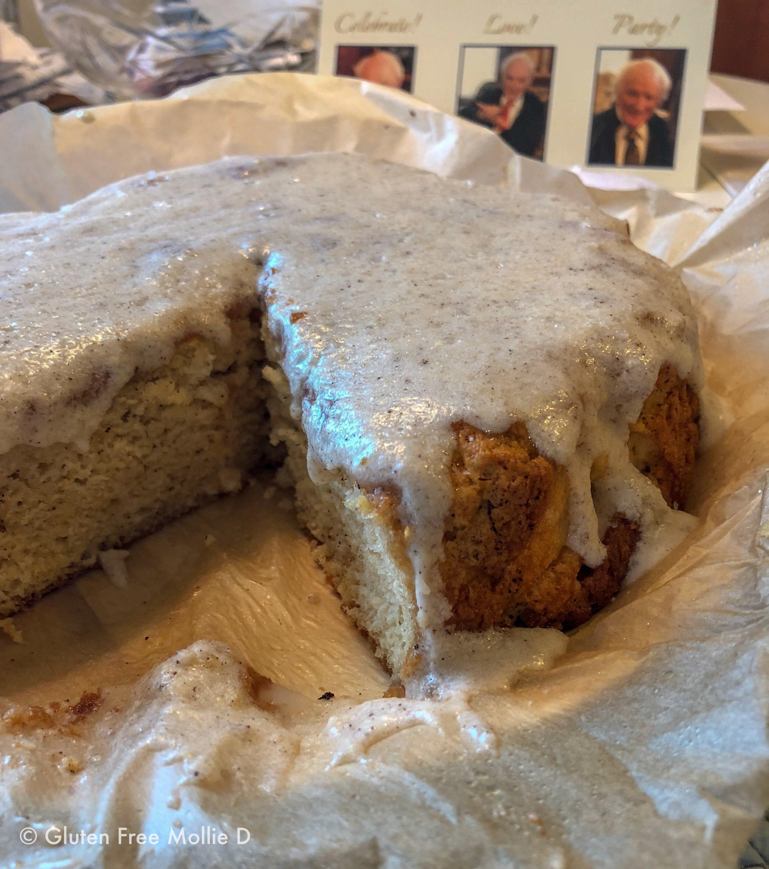Buttermilk cake was a big hit - again!