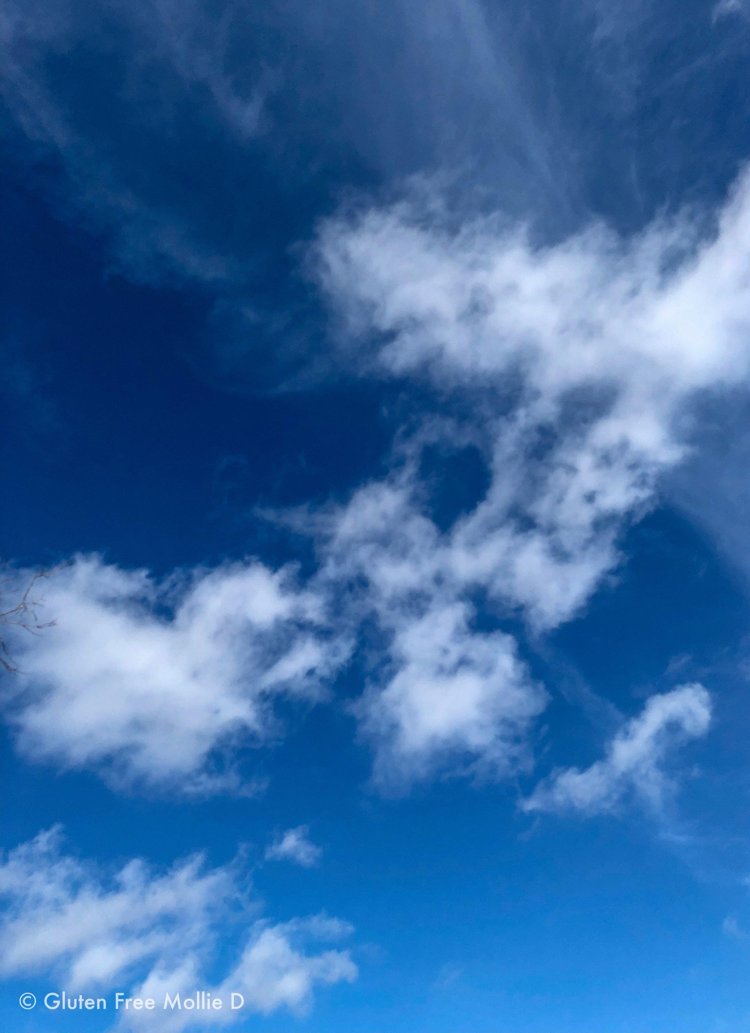Sunday morning's sky. 😍