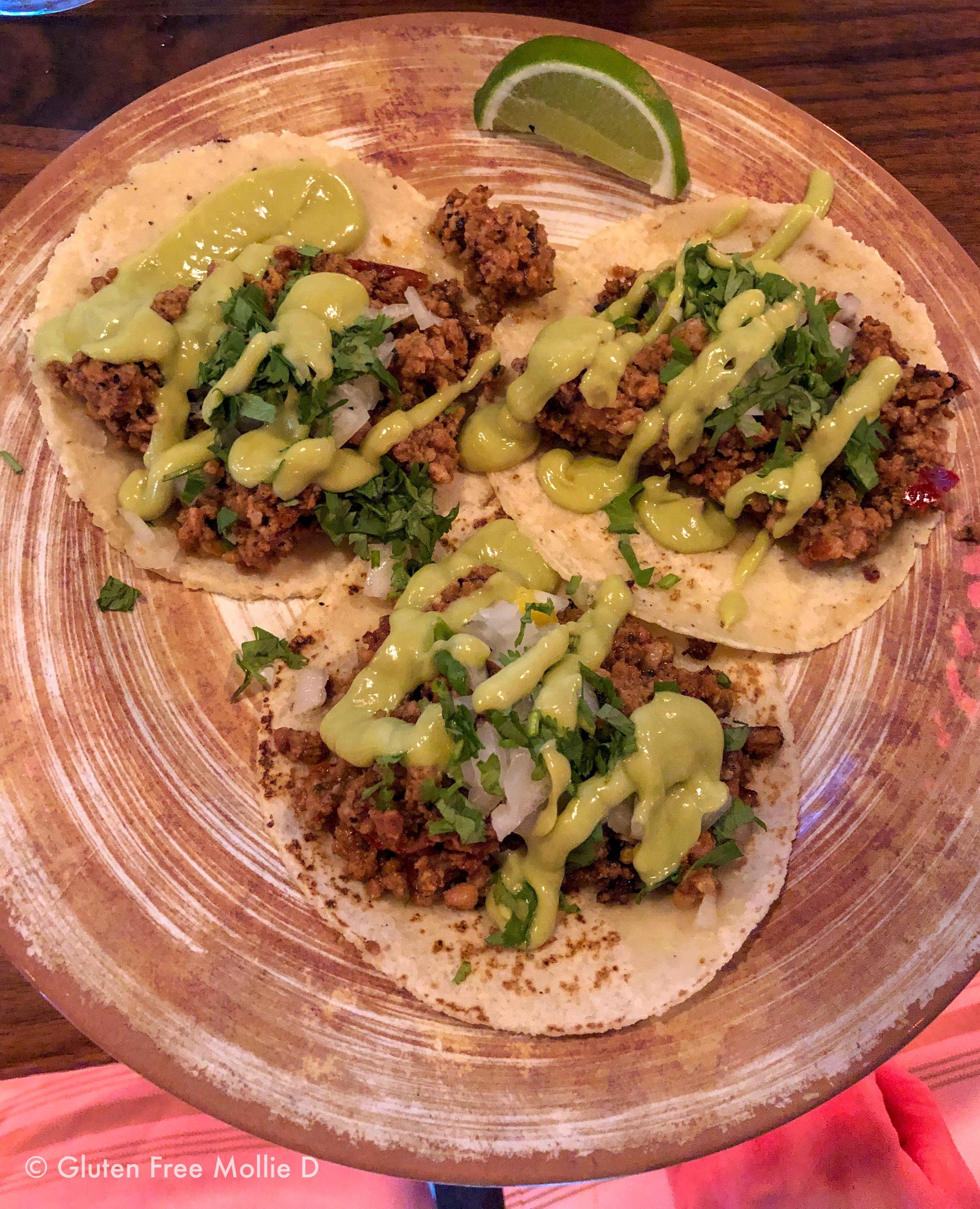Chorizo tacos. Yum.