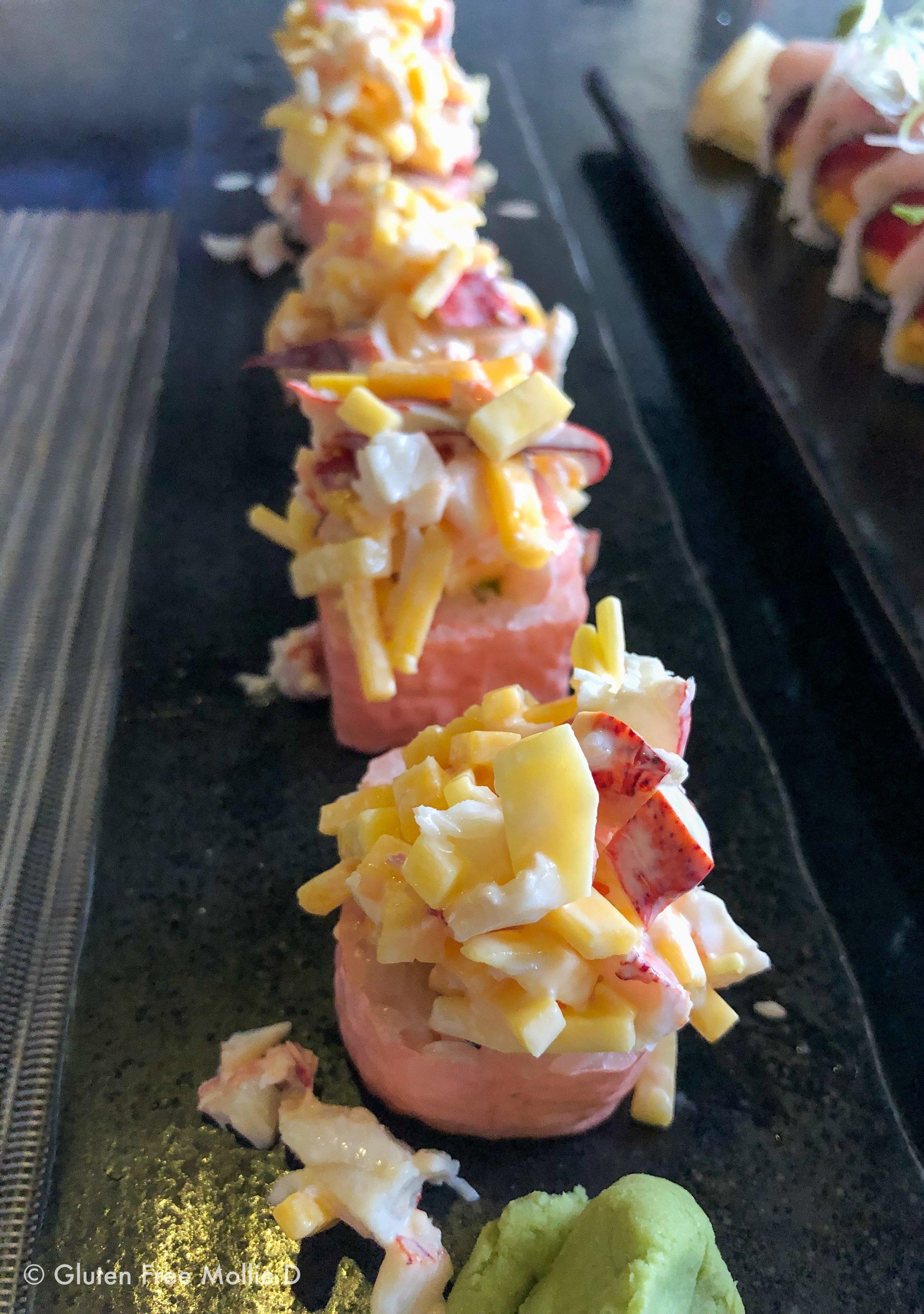 Mmm, sushi...