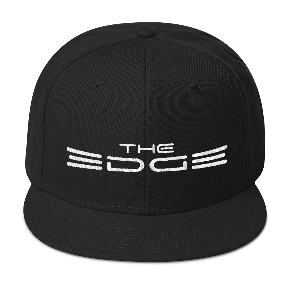 """The Edge"" Snapback (Black)"