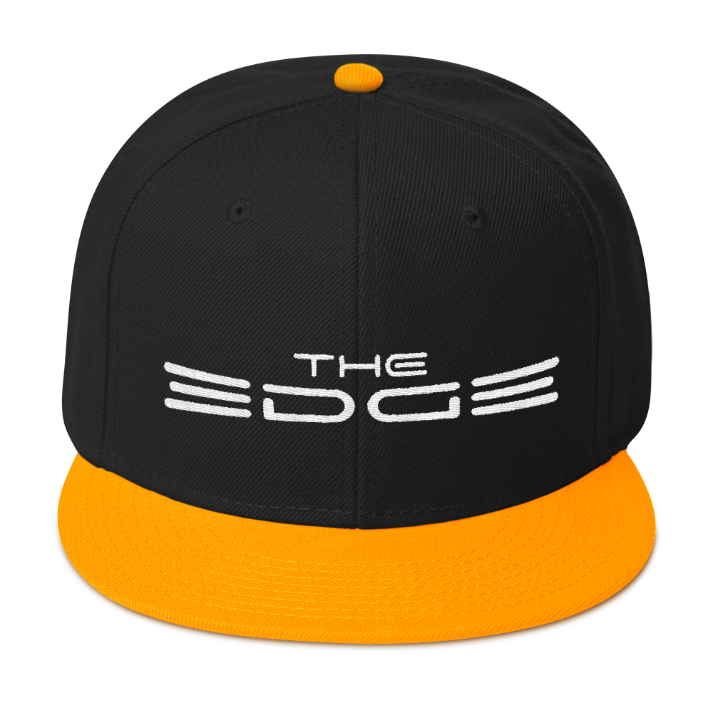 """The Edge"" Snapback (Yellow)"