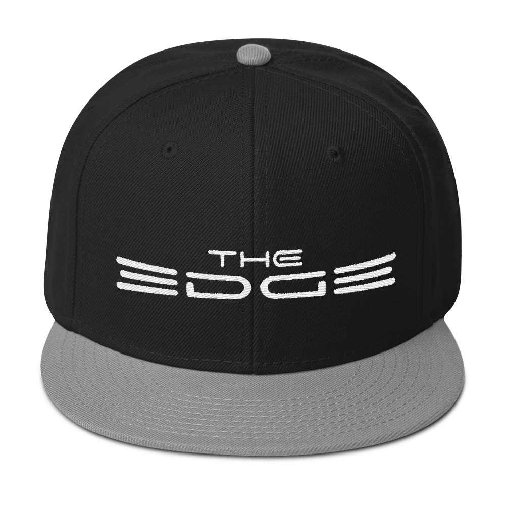 """The Edge"" Snapback (Gray)"