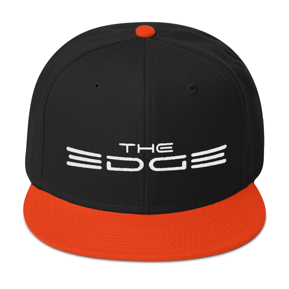 """The Edge"" Snapback (Orange)"