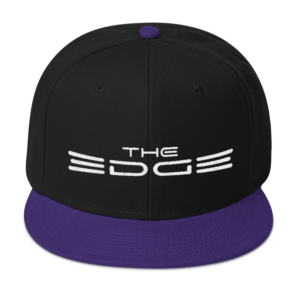 """The Edge"" Snapback (Purple)"