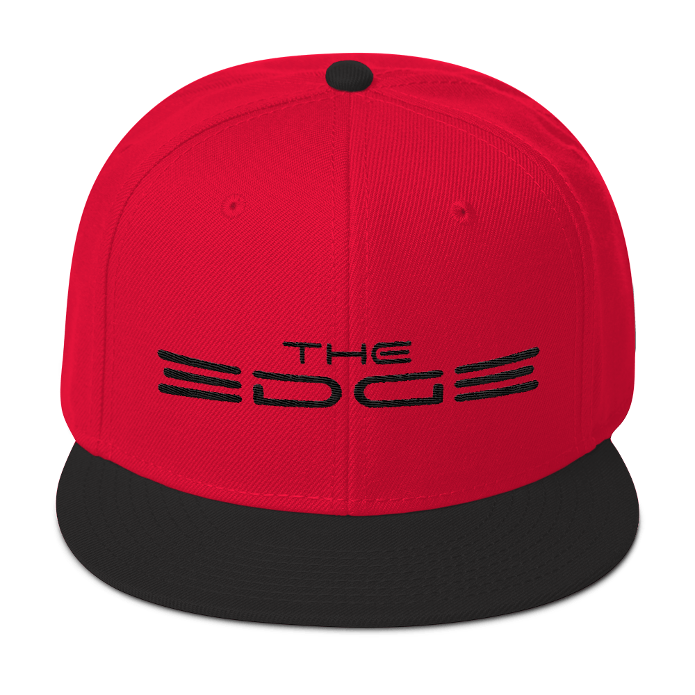 """The Edge"" Snapback (Red/Black)"
