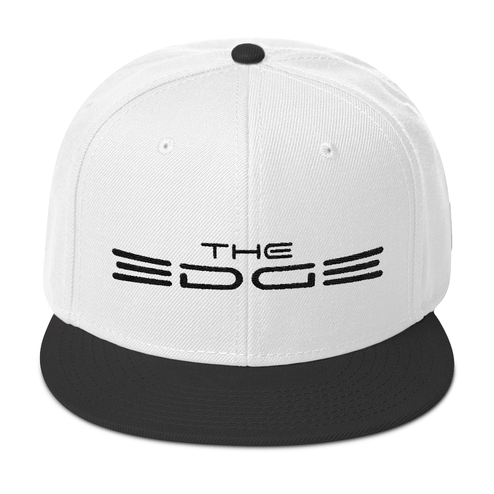 """The Edge"" Snapback (White/Black)"