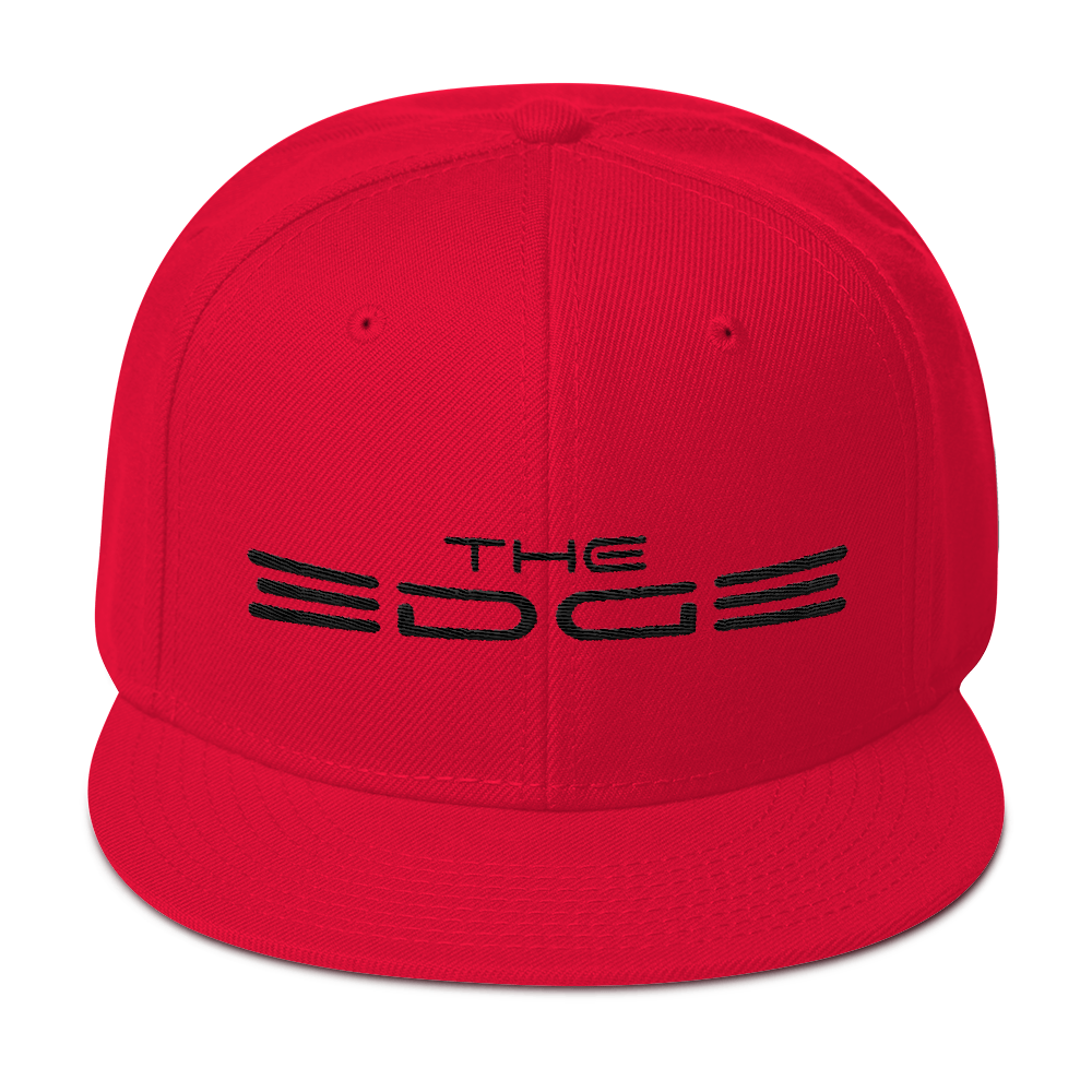 """The Edge"" Snapback (Red)"