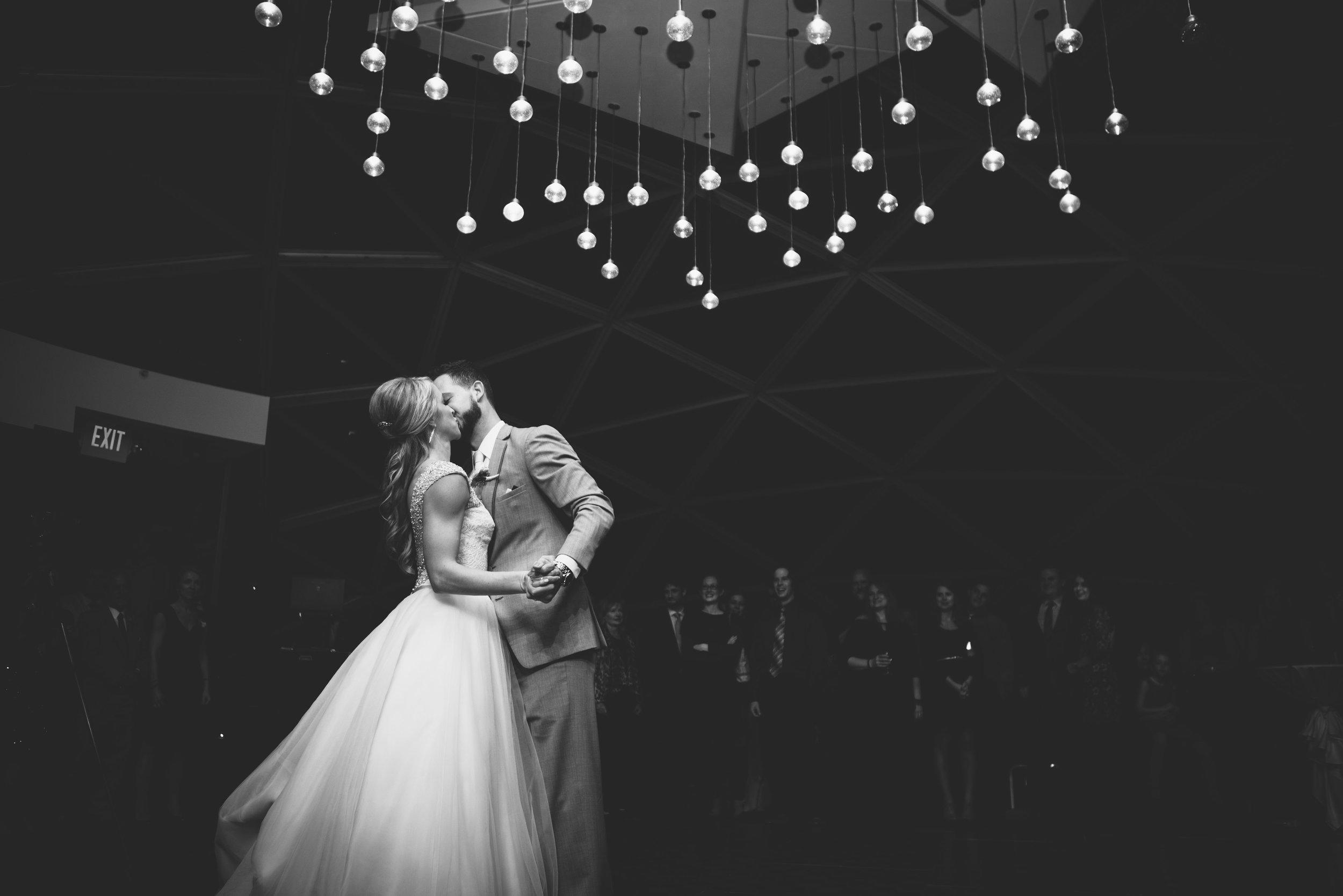 Romantic Winter Millennium Hotel Wedding