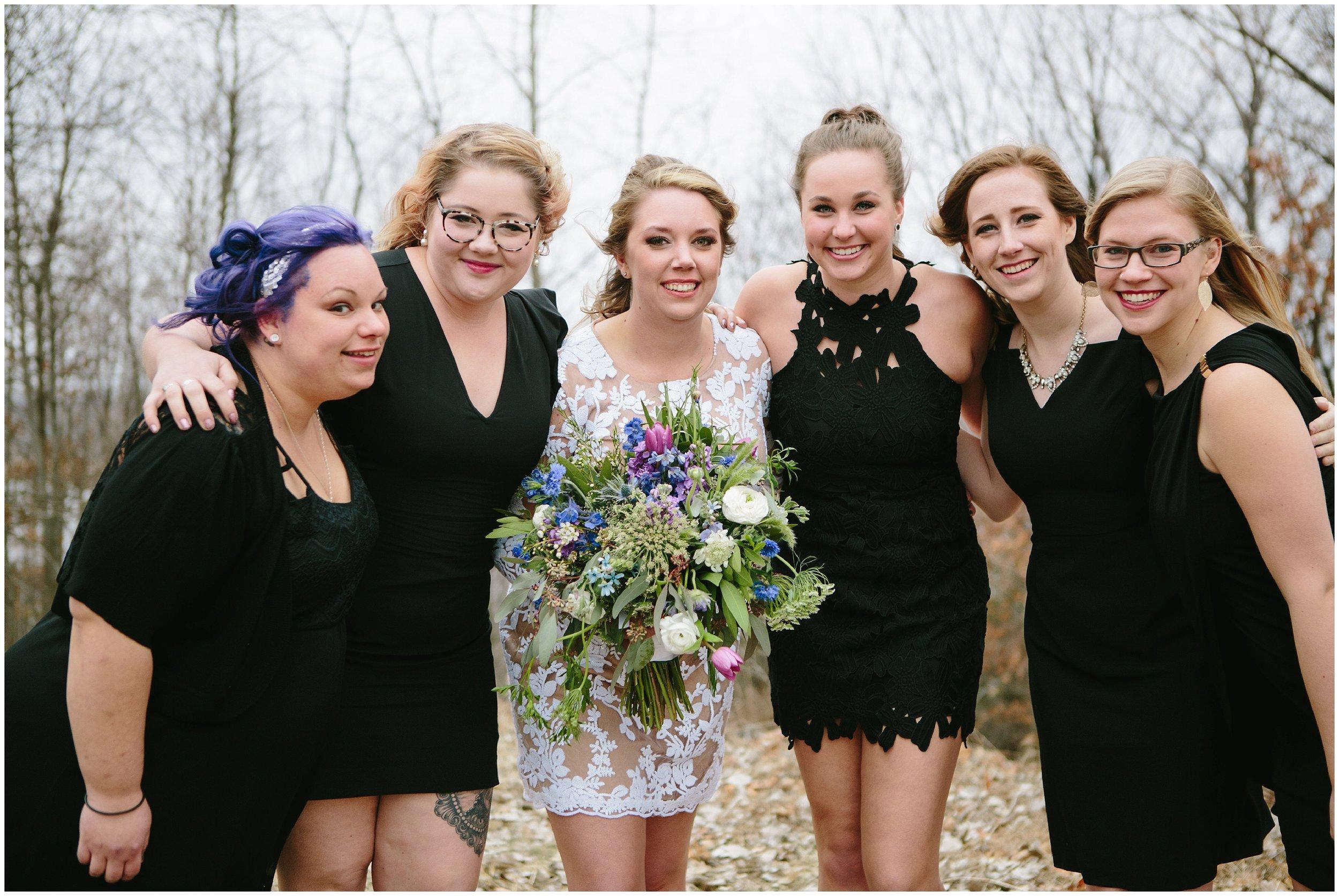 Intimate Grand Avenue Wedding