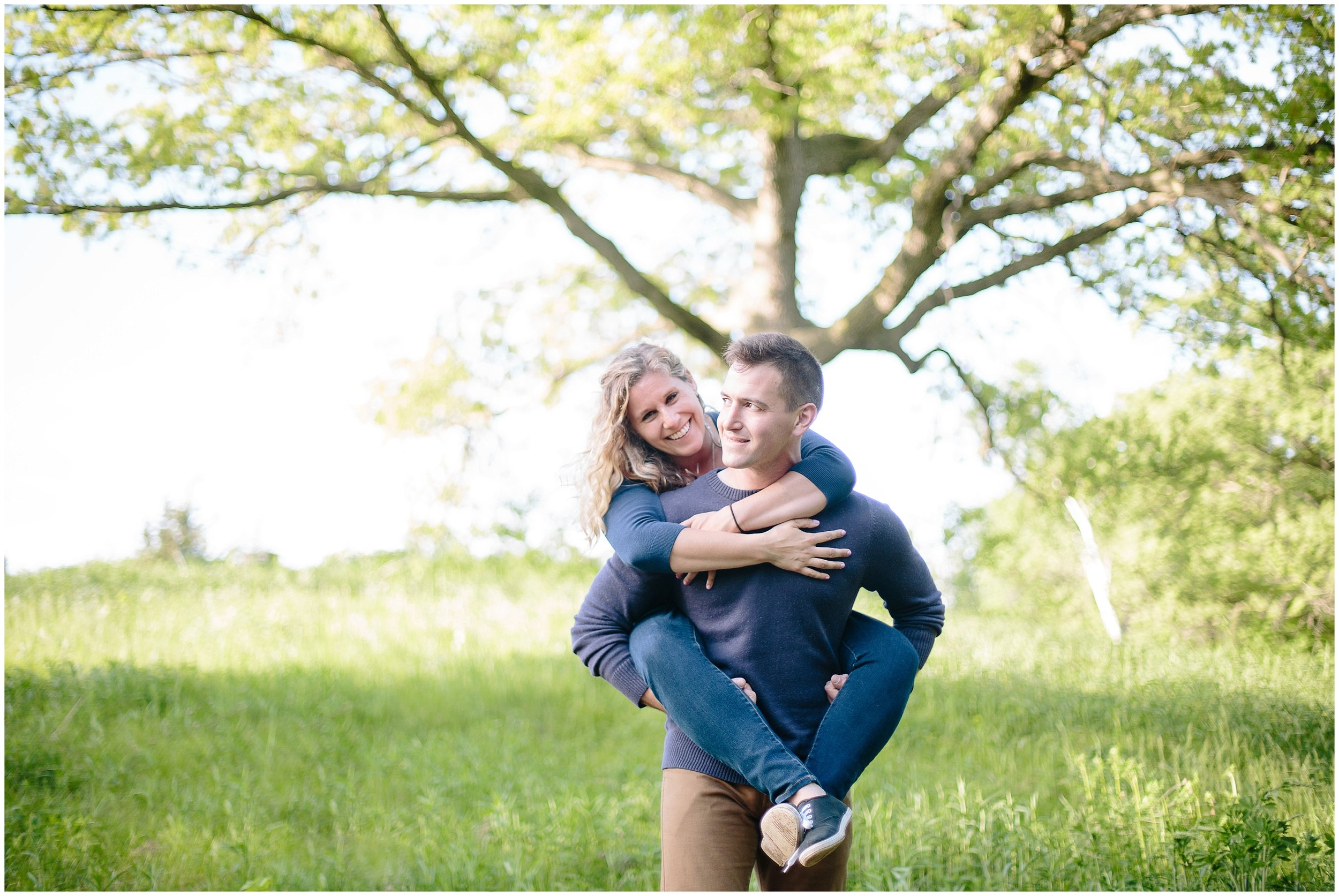 Whimsical Theodore Wirth Park Engagement Session