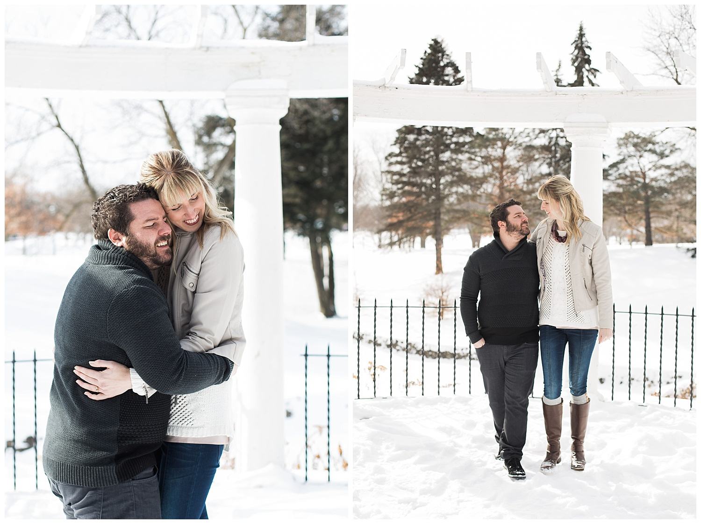 Lauren Baker Photography Como Conservatory engagement session