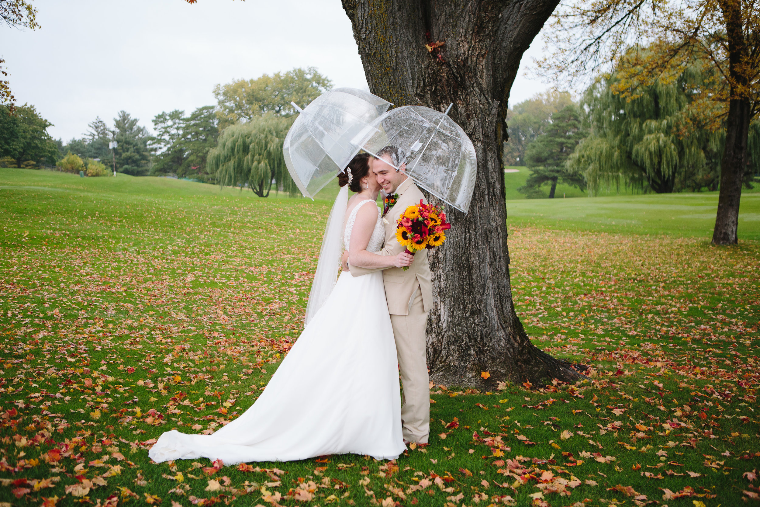 Lauren Baker Photography in case of rain on wedding hair
