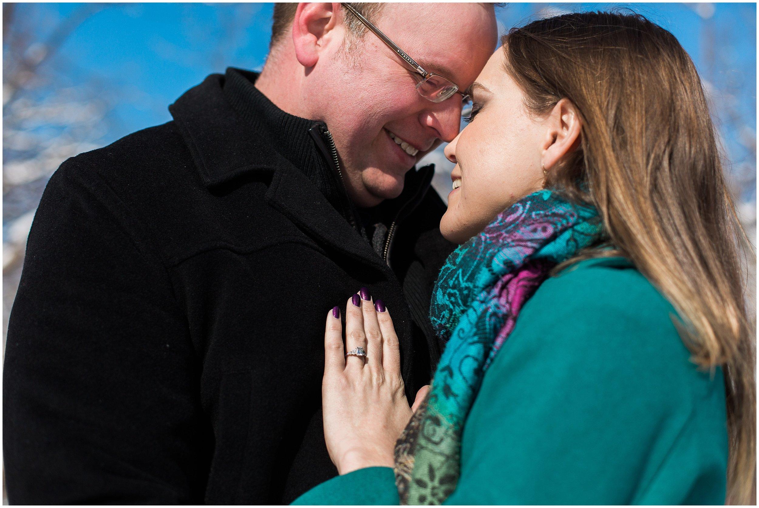 Lauren Baker Photography Silverwood Park engagement session