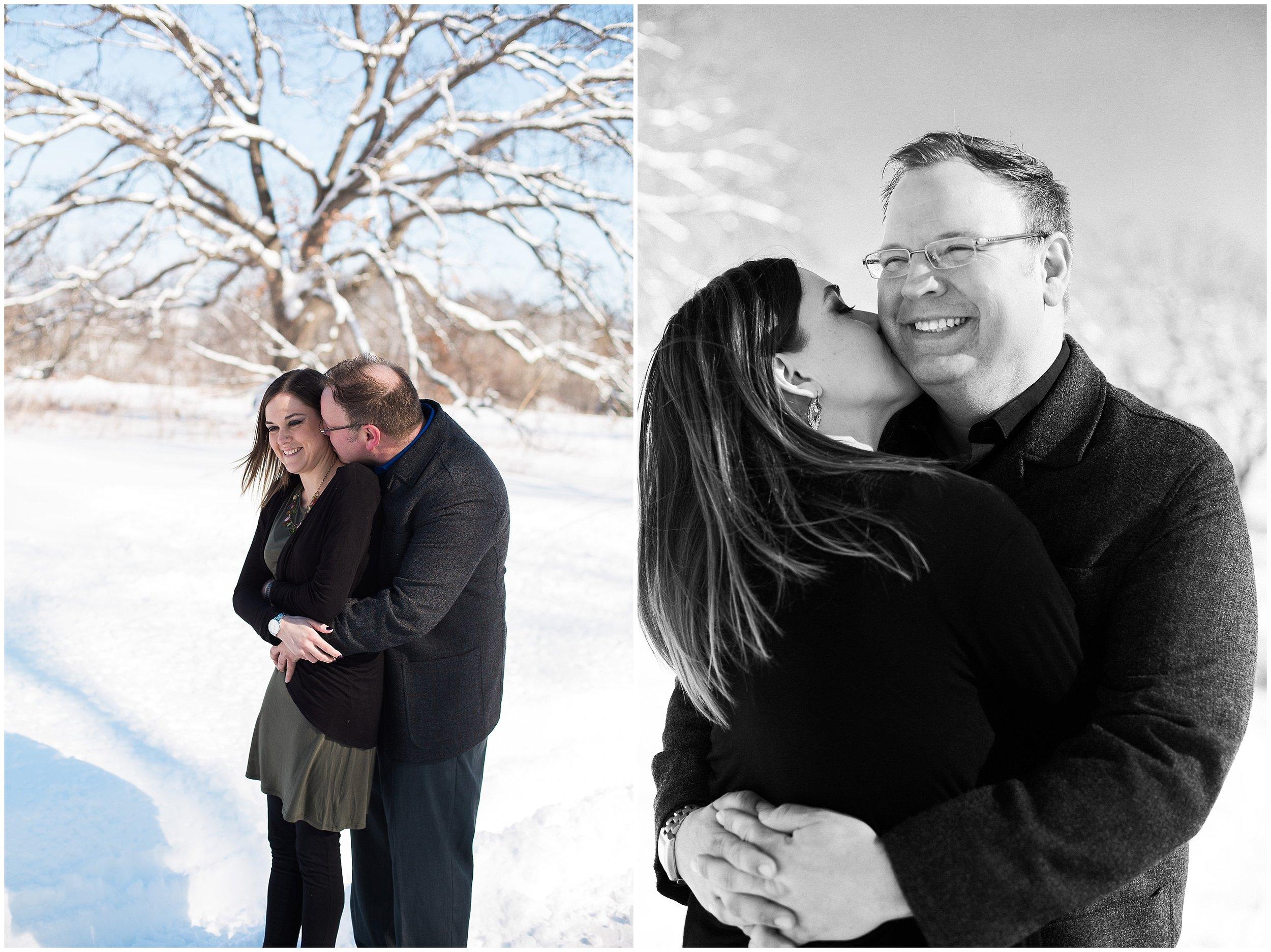 Silverwood Park engagement session with Lauren Baker Photography