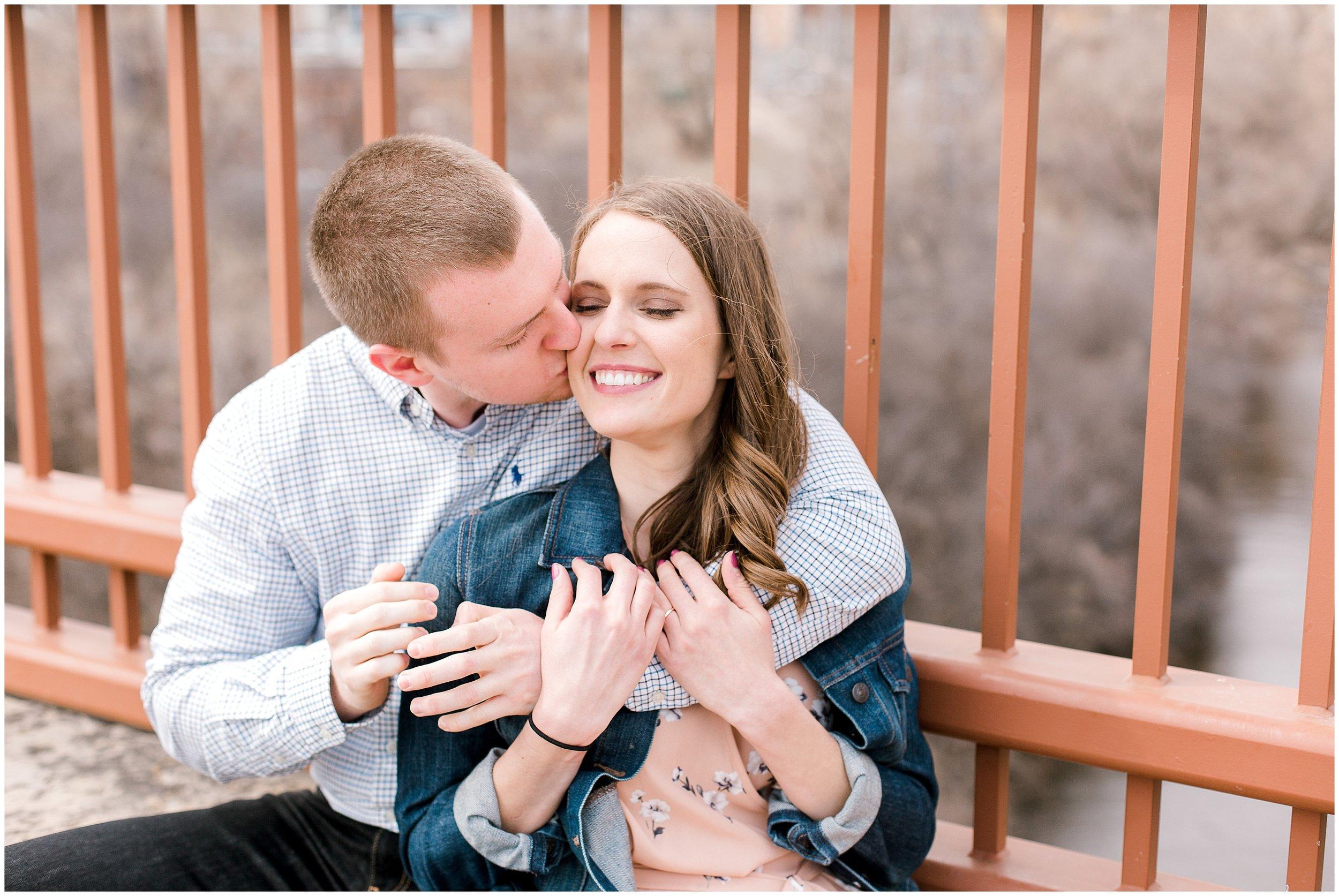St. Anthony Main engagement session with Lauren Baker Photography Wedding photographer Minnesota