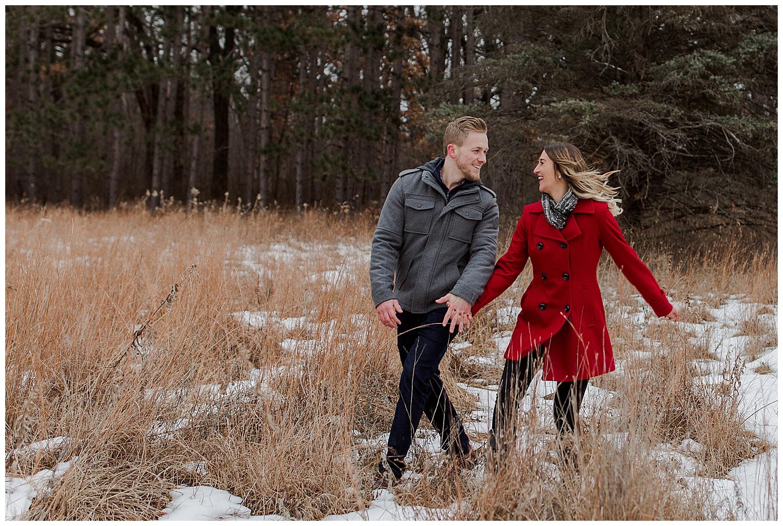 Lauren Baker Photography Rice Creek North Regional Trail Minnesota wedding engagement photography