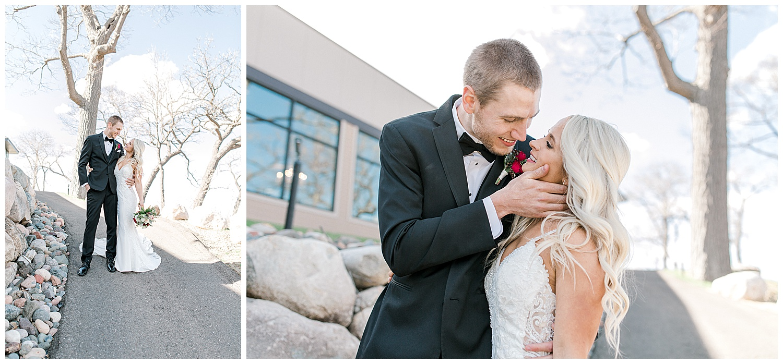 Lauren Baker Photography Leopold's Mississippi Gardens Spring Minnesota Wedding