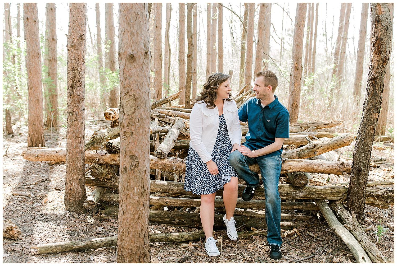 Lauren Baker Photography Rice Creek North Regional Trail Minnesota engagement session