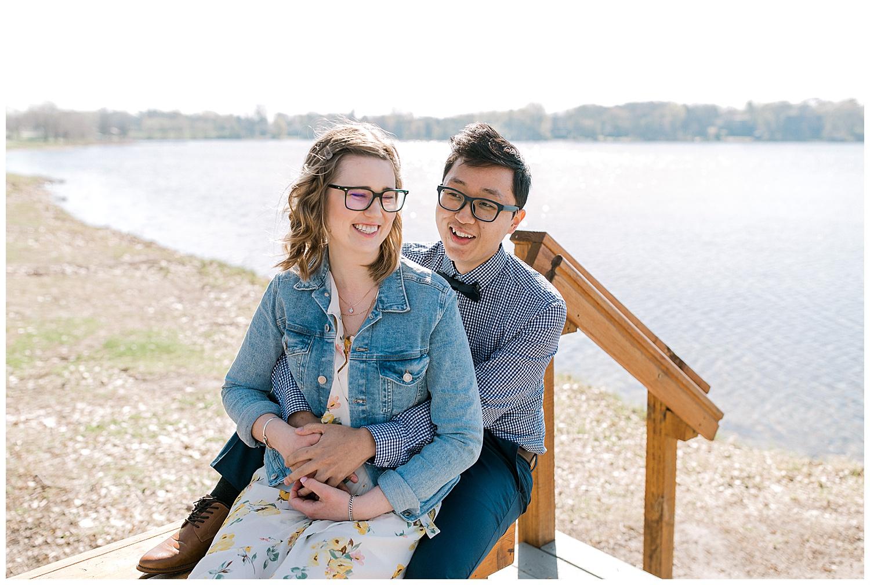 Lauren Baker Photography Parkers Lake Park Minnesota engagement photography session