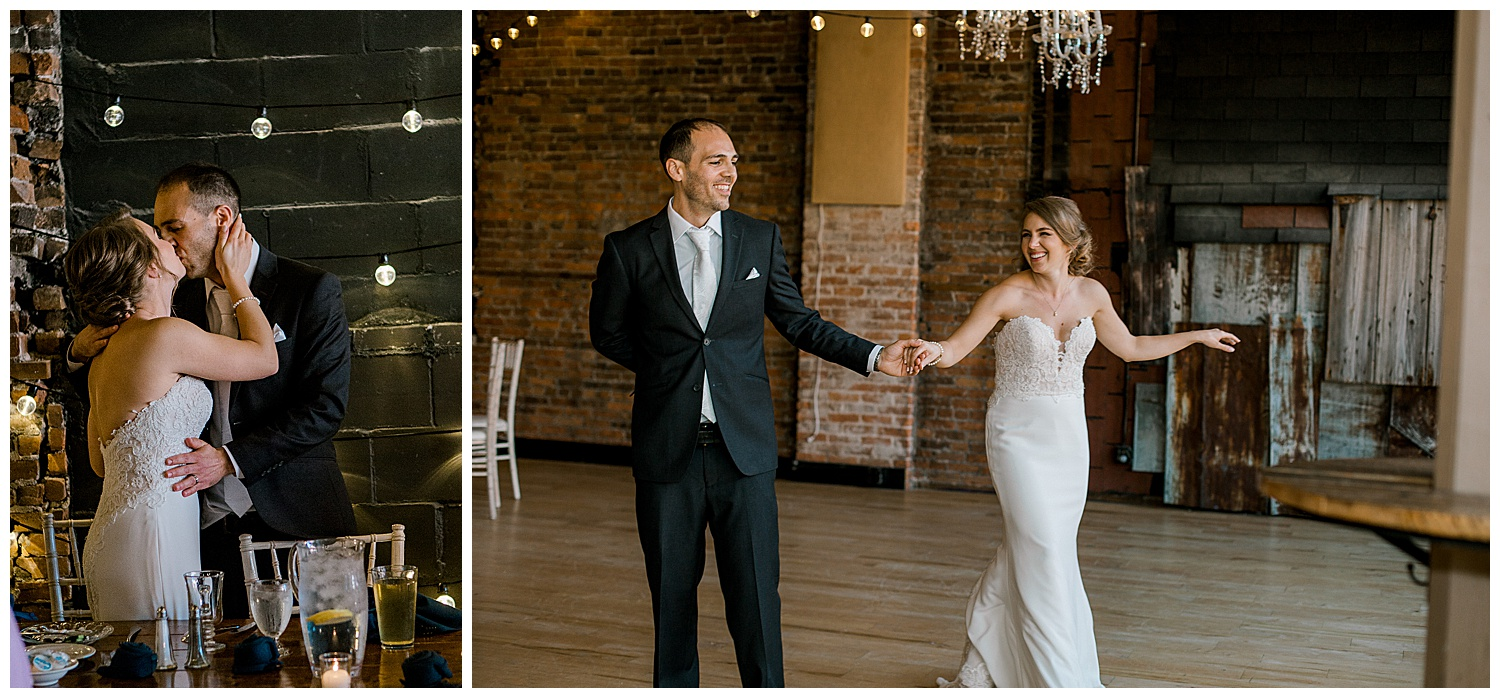 Lauren Baker Photography The Loft at Studio J Summer Minnesota Wedding