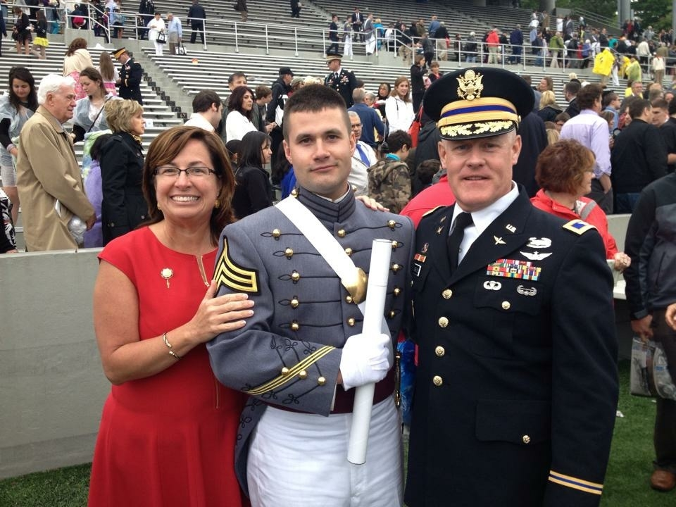 God's faithfulness- Michael graduated from West Point!