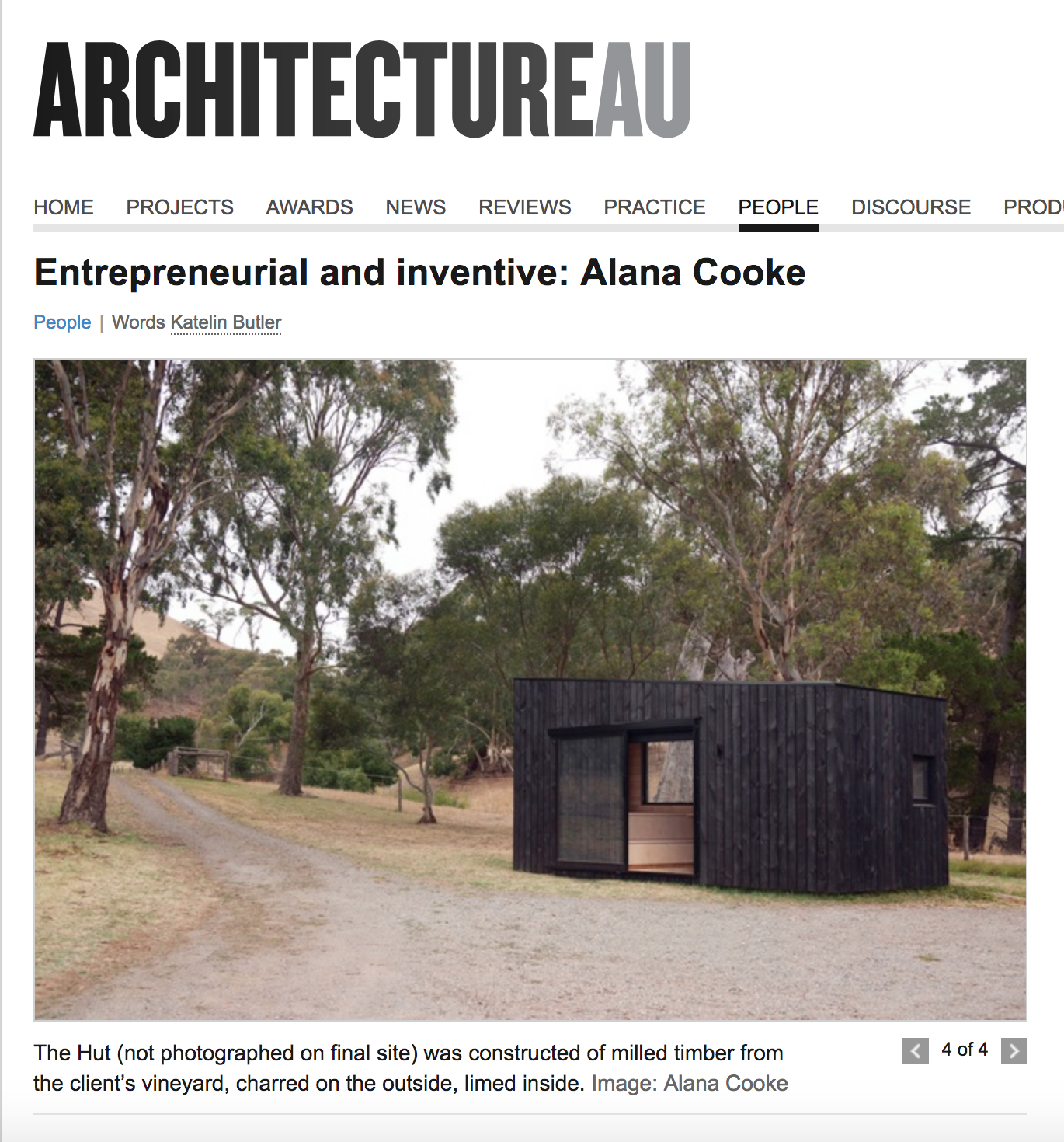 Architecture Australia The Hut Architecture Interior Design by Alana Cooke.png