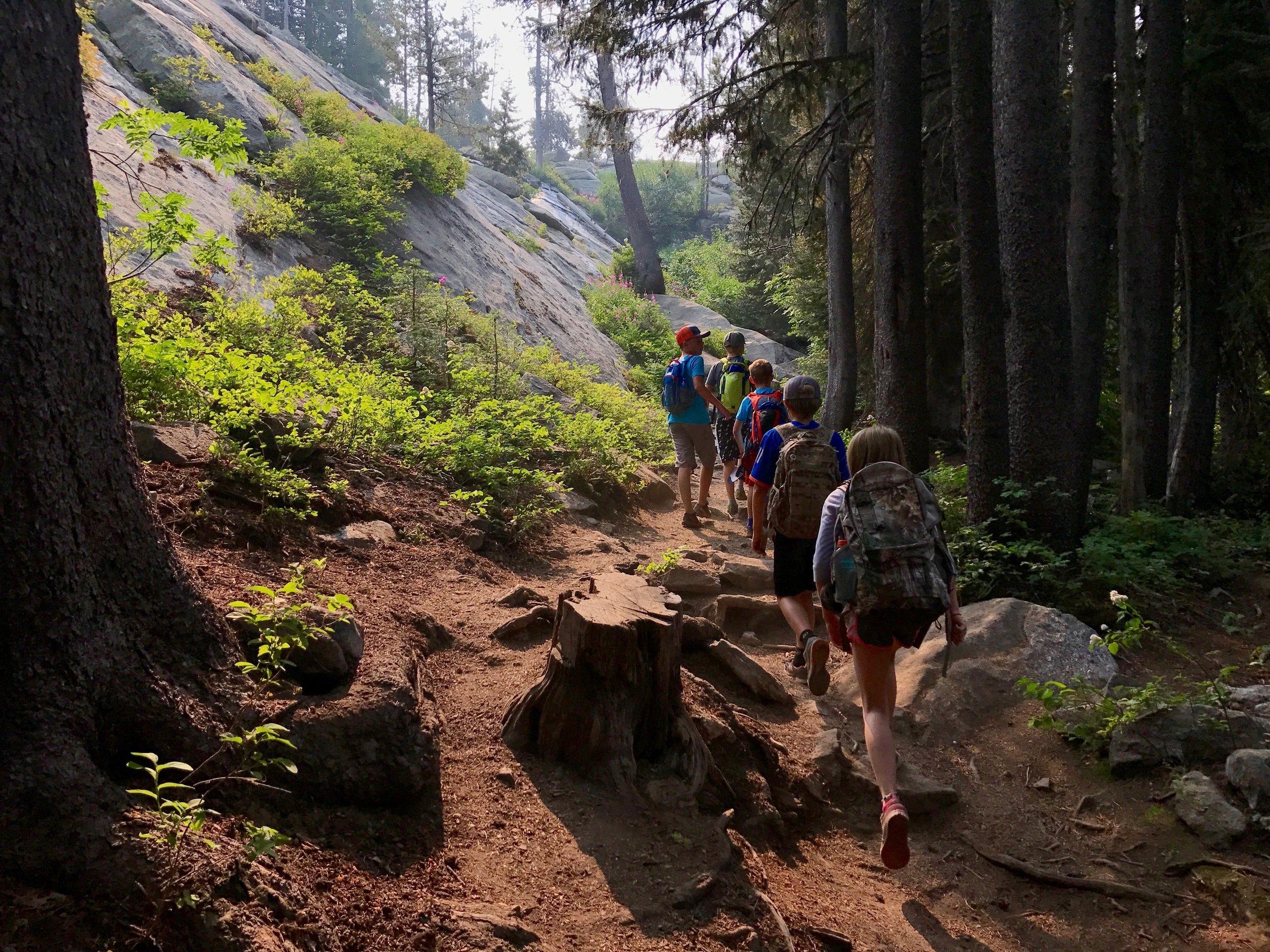 Youth Hiking Camps -