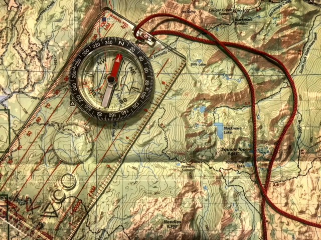 Each camper will go home with a compass and local map!