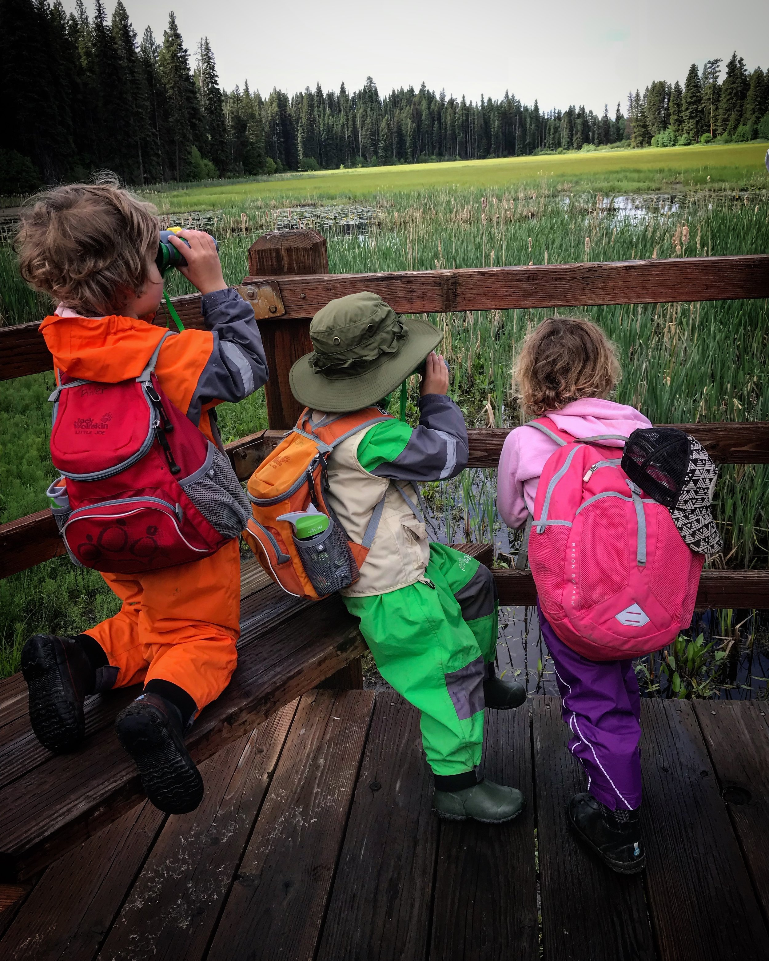 outdoor exploration camps -