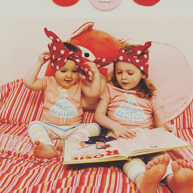 We can't think of anything better than big Rosies teaching little Rosies about Rosie! Caitlin and Evelyn love reading bedtime stories, tonight we are honored they are reading Rosie a Detroit Herstory! . #rosietheriveter #Rosie #WorldWarII #Costume #TributeRosie #RosieAdetroitherstory #detroitherstory #detroit #book #youngadultbooks #childrensbook #nonfiction #wsupress @wsupress #bookcharacter #womenwarworkers #detroitwoman #reading #outfit #historicaloutfit #rosietheriveter #writer #instabook #yaauthor  #book #tributerosies #michigan #history #femaleheroes #sheroes #bedtime #bedtimestory