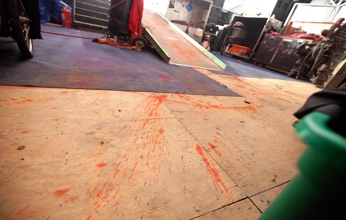 Gwar backstage