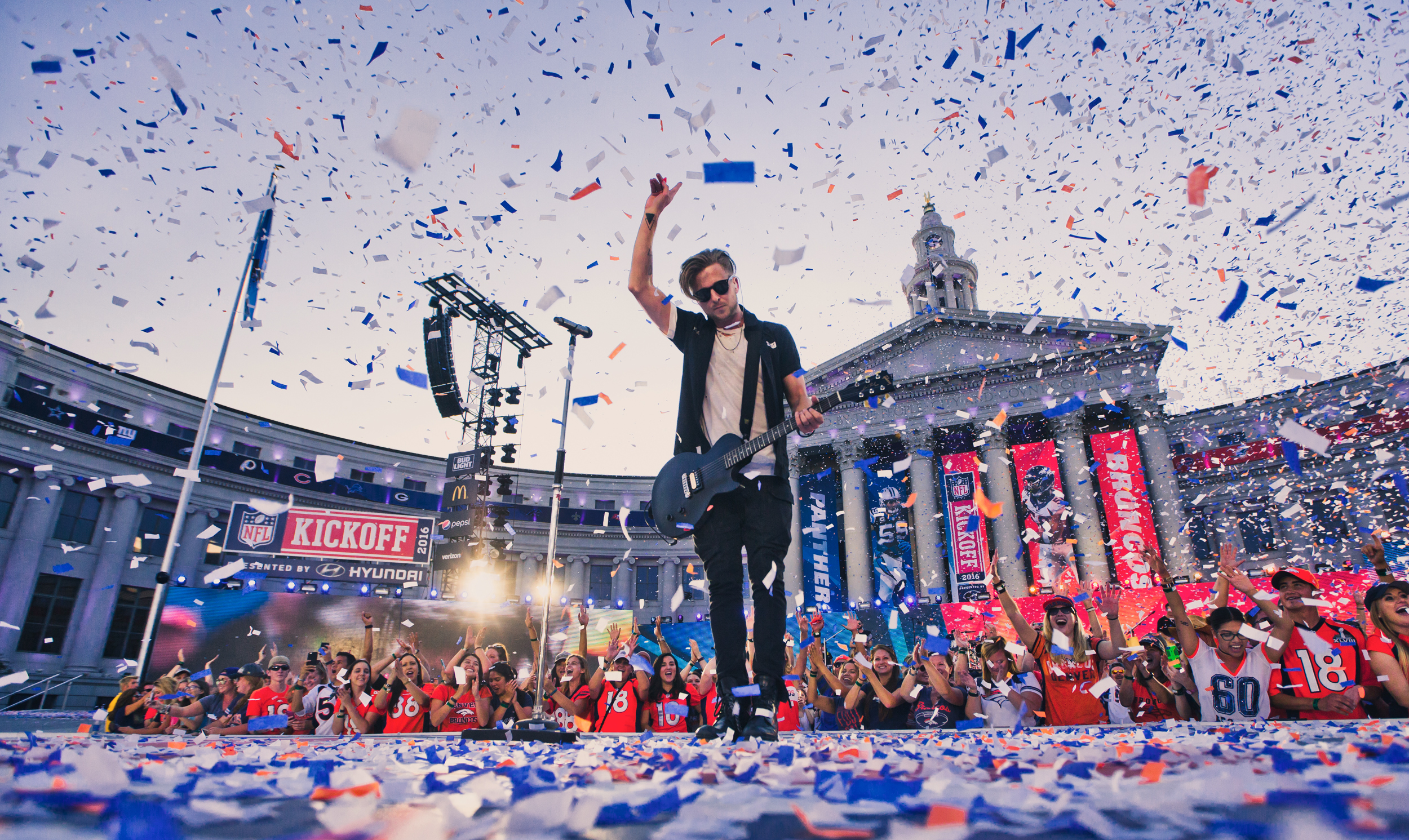 Ryan Tedder of OneRepublic - NFL Kickoff Party