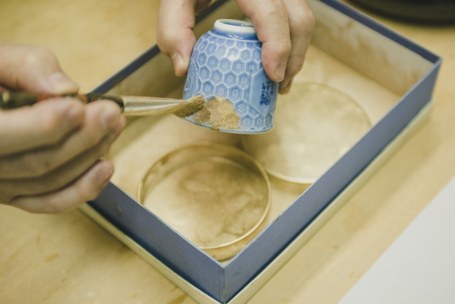 Try Kintsugi in Tokyo - Transform a broken bowl with this 500-year old technique using pure gold dust.
