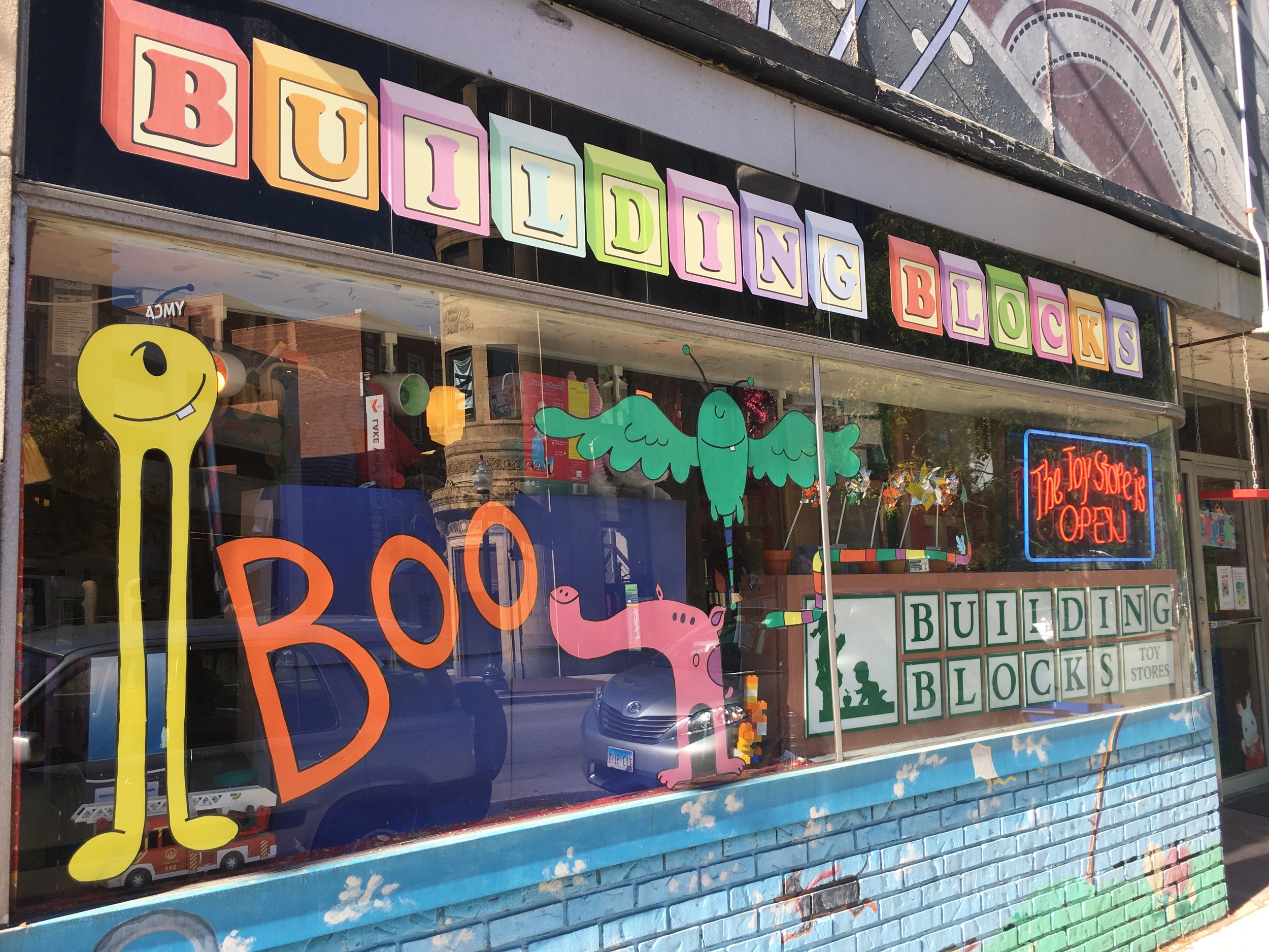 building blocks toy store women owned chicago