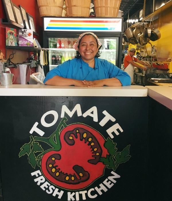 Tania Merlos-Ruiz Tomate Fresh Kitchen