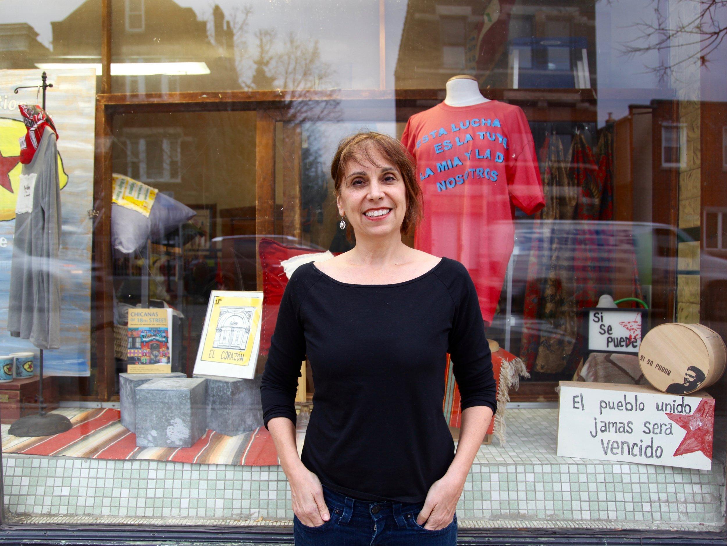 Stephanie Weiner owner of Revolutionary Lemonade Stand in Pilsen, women-owned