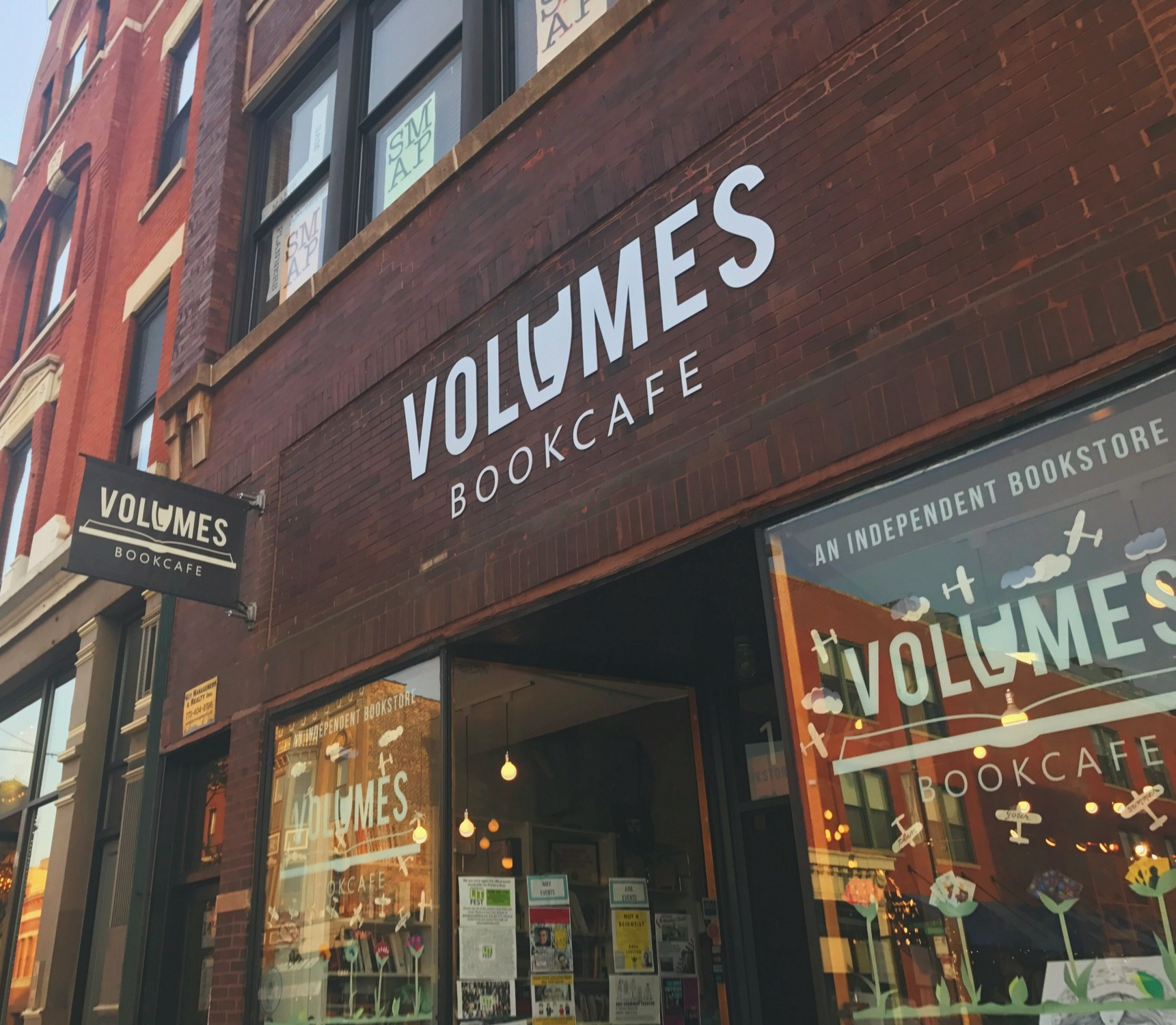 Volumes Bookcafe Women owned business
